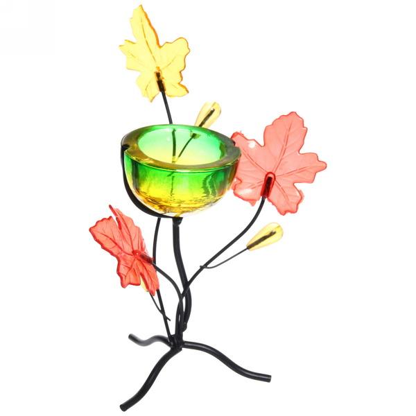 Подсвечник ″Осенние листья″ купить оптом и в розницу