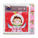 Салфетки бумажные Новогодние DUNI 3-сл. 33 см. MARIE & LOUISA 20 шт. 12 уп/кор 161881 купить оптом и в розницу