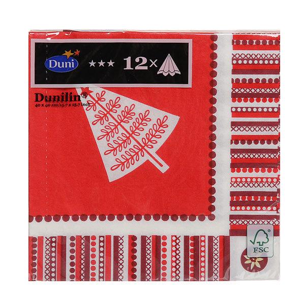 Салфетки DUNI DUNILIN soft 40 см; WINTER MEMORIES, (12 шт/уп), 12 уп/кор : 161891 купить оптом и в розницу
