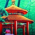 Картина пластик 40*90см тройная ″Райский сад″ НА5758/59/60 купить оптом и в розницу