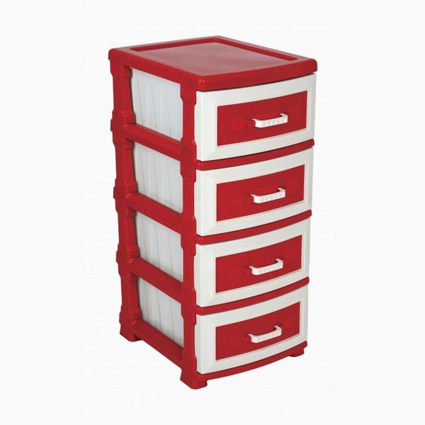 Комод  (красный ) 460х376х930 купить оптом и в розницу