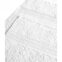 Махровое полотенце 100*180см Белое купить оптом и в розницу