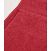Махровое полотенце 100*180см Бордовое купить оптом и в розницу