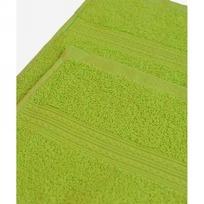 Махровое полотенце 100*180см Зеленое купить оптом и в розницу