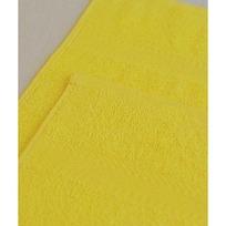 Махровое полотенце 100*180см Лимонное купить оптом и в розницу