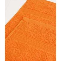 Махровое полотенце 100*180см Оранжевое купить оптом и в розницу