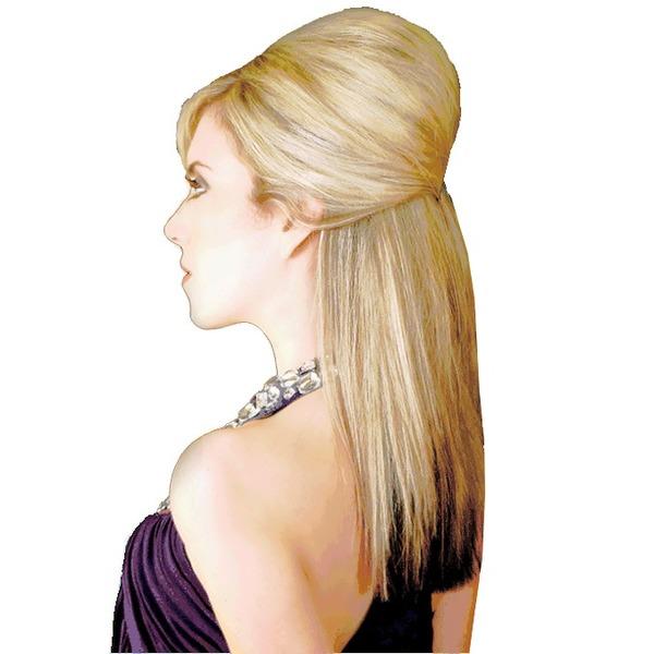 Заколка-гребень для придания начеса волосам, цвет черный 8,5см купить оптом и в розницу