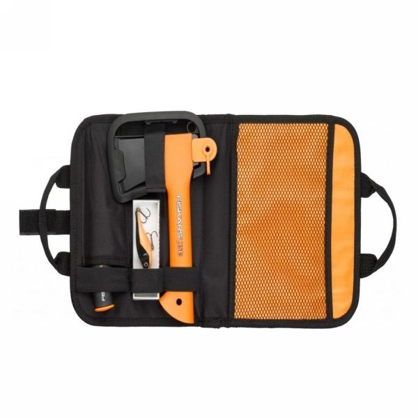Промо-набор Топор Х5, блесна, нож в сумке (129044) FISKARS купить оптом и в розницу