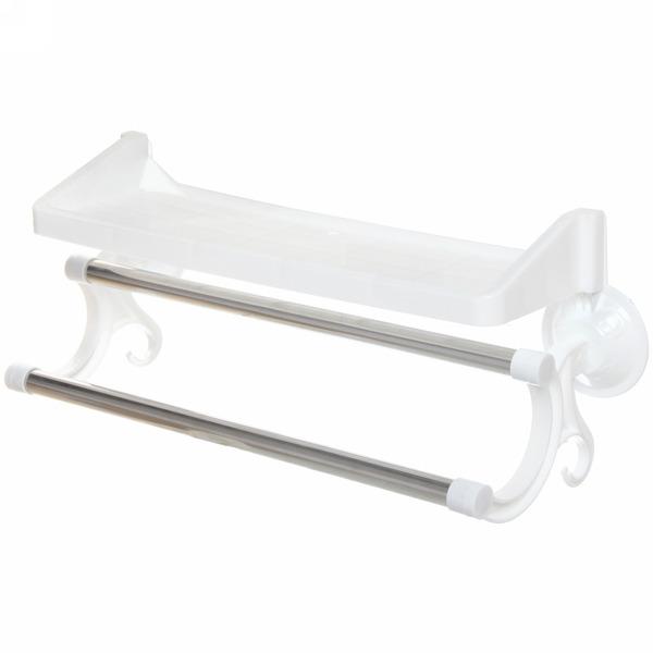 Полка для ванны на присосках 36х10х17см. Y836-W купить оптом и в розницу