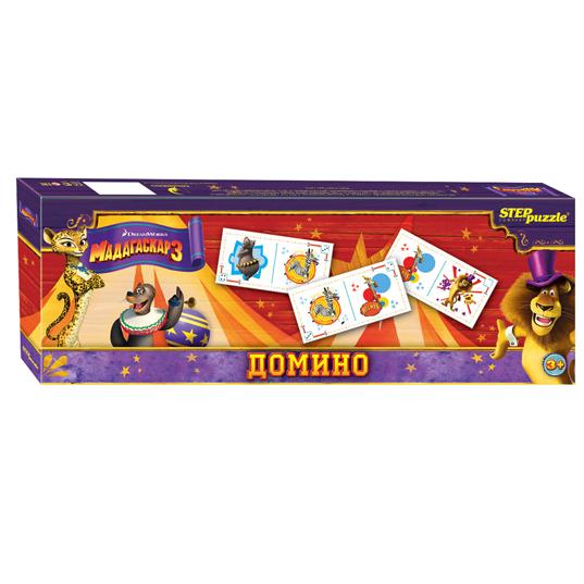 Домино Дисней 80110 Мадагаскар-3 Степ /30/ купить оптом и в розницу