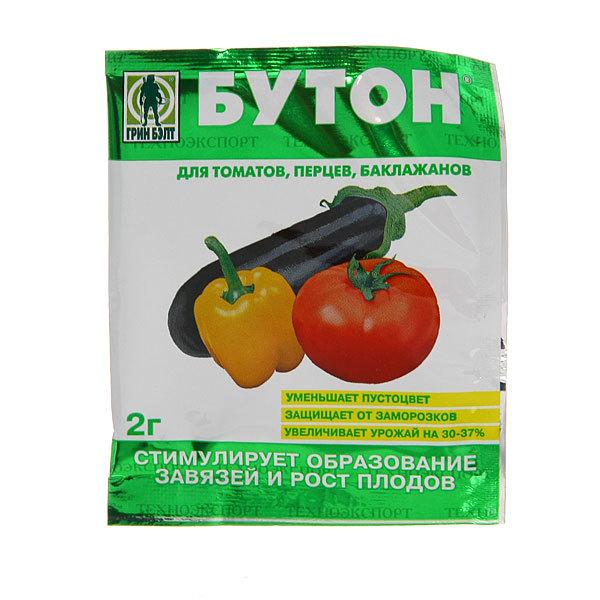 Удобрение для томатов, перцев, баклажанов 2 гр ″Бутон″ купить оптом и в розницу