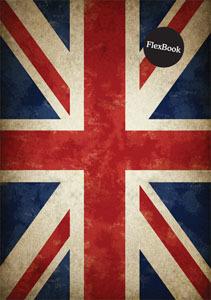 """Тетрадь А4  60л.кл.скрепка Flex Book, """"Britain"""" купить оптом и в розницу"""