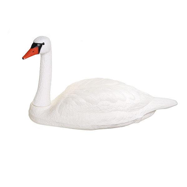Фигура садовая плавающая ″Лебедь белый″ (80 х 50см) (2561) купить оптом и в розницу