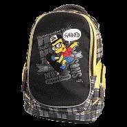 Рюкзак подростковый PROFF The Simpsons 38*29*18 см, с 2-мя отдел., 2 карман, карманом для планшета, брелоком для ключей купить оптом и в розницу