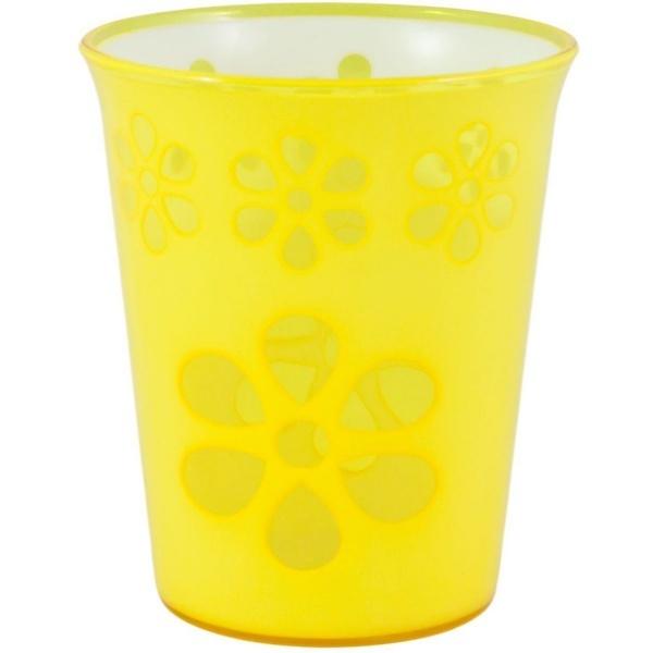 Стакан Соблазн 200мл.жёлтый (1/35) купить оптом и в розницу