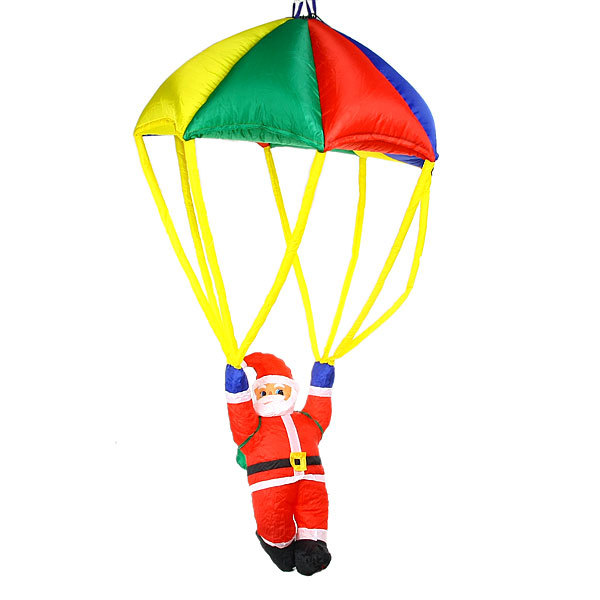 Фигура надувная ″Дед Мороз на парашюте″ 1,8м купить оптом и в розницу