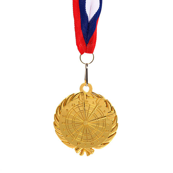 Медаль ″Дартс″ - 1 место (6см) 248 купить оптом и в розницу