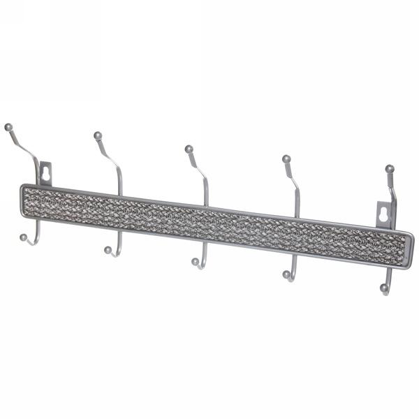 Вешалка настенная 5 крючков 45х16см BX-5 купить оптом и в розницу
