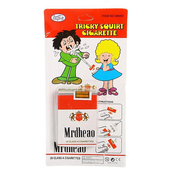 Прикол ″Пачка сигарет-брызгалка″ 147-3 купить оптом и в розницу