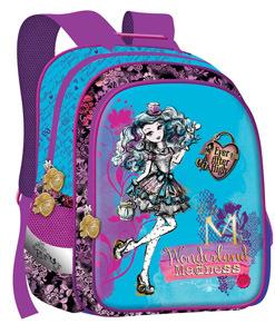 Ранец школьный Limpopo Super bag Mattel Ever After High ортоп.спинка голубой купить оптом и в розницу