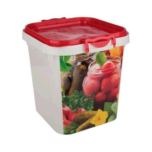 Емкость пл 25 л д/овощей (Октябрьский)*5 купить оптом и в розницу