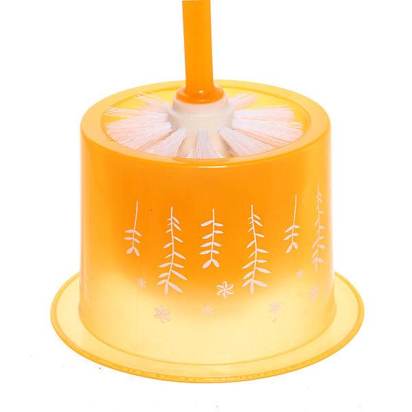 Ерш для туалета, оранжевый 38см купить оптом и в розницу