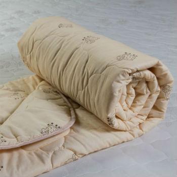 Одеяло Евро Овечья шерсть обл п/э МУ купить оптом и в розницу