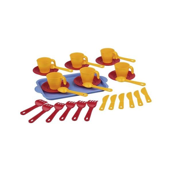 Набор детской посуды пл 2 пр Хозяйка (Октябрьский)*14 купить оптом и в розницу
