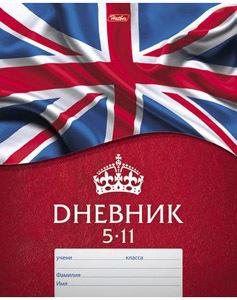 """Дневник д/старш.кл.мягк.обл.HATBER, """"Британский флаг"""" купить оптом и в розницу"""