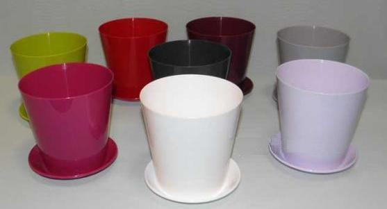 Кашпо Вулкано 15 1,8 фиолетовый *10  Form plastic купить оптом и в розницу