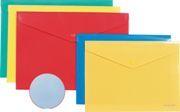 Папка-конверт с кноп. В5 Erich Krause ассорти 0,18мм купить оптом и в розницу