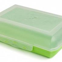 Ланч-бокс 0,7 л (салатный) купить оптом и в розницу