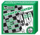 Игра Шашки/нарды (умные игры) 00104 купить оптом и в розницу