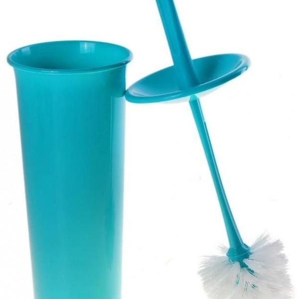"""Комплект WC """"Ориджинал"""" закрытый голубой пастельный *10 купить оптом и в розницу"""