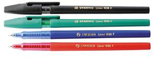 Ручка шар.Stabilo liner 0.3мм син купить оптом и в розницу
