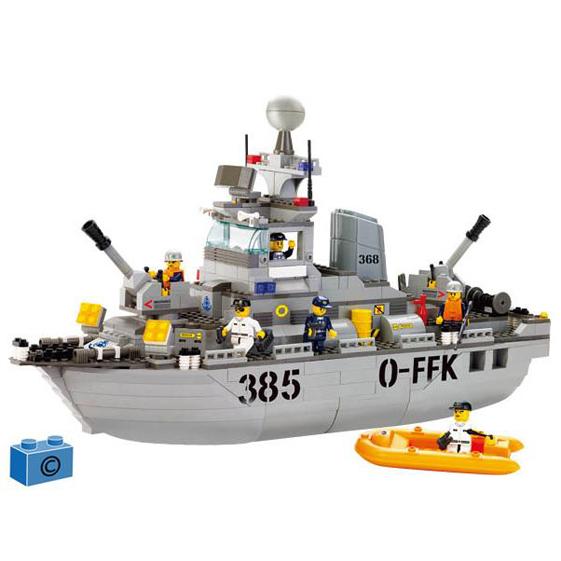 Констр-р 38-0125 Морская серия 461 дет.в кор. купить оптом и в розницу