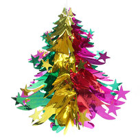 Украшение новогоднее Елочка 40 см цветная купить оптом и в розницу