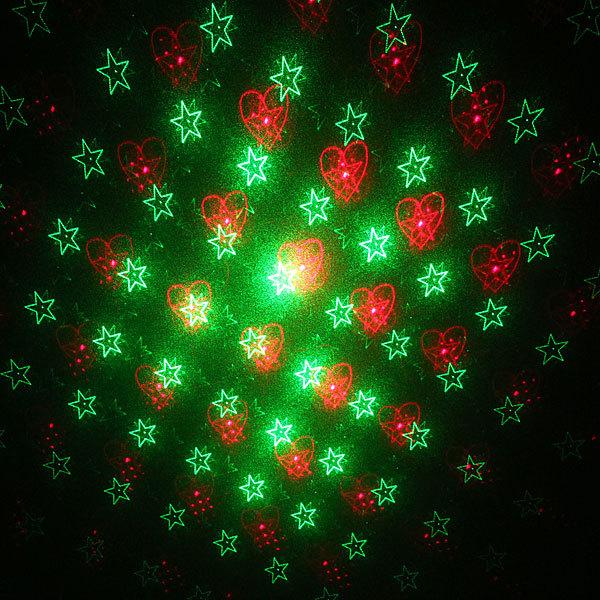 Световой прибор Лазер М006G , 6 рисунков купить оптом и в розницу