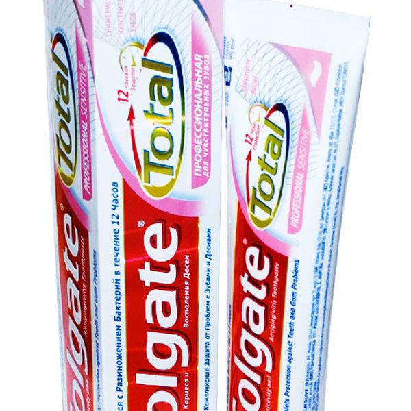 Зубная паста ″Колгейт″ Total12 Профессиональная для чувствительных зубов 100мл купить оптом и в розницу