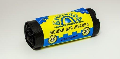 мешки д/мусора в рулоне 30л/30шт. (крепакоф) 1*50 купить оптом и в розницу