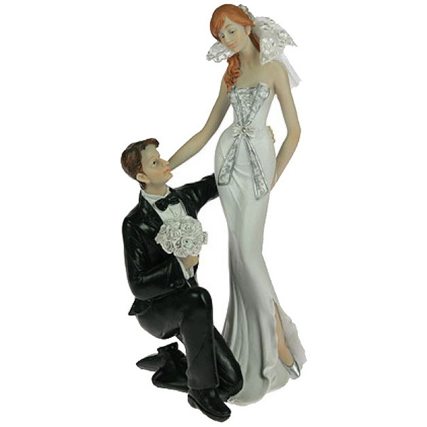 Статуэтка ″Свадебная″ 17*12*30см (уп.1/8шт.) (27598) купить оптом и в розницу
