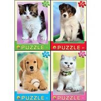 Пазл 24 Щенки и котята П24-6325 купить оптом и в розницу
