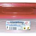 Контейнер прямоугольный для пищ.продуктов 1,0л 1/40 купить оптом и в розницу