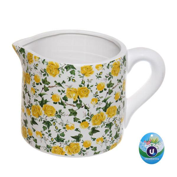 Кашпо для цветов садовое ″Молочник микс″ 14х13см″ YE12270-2 купить оптом и в розницу