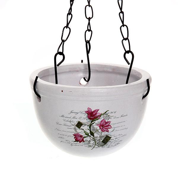 Кашпо для цветов садовое ″Подвесное″ 10х10см″ YВ14285-2 купить оптом и в розницу