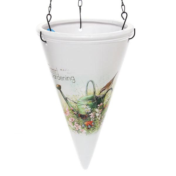 Кашпо для цветов садовое ″Подвесное″ 31х16см″ YВ14287-1 купить оптом и в розницу