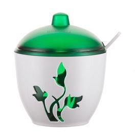 """Сахарница """"Viola"""" (зеленый полупрозрачный)*24 купить оптом и в розницу"""