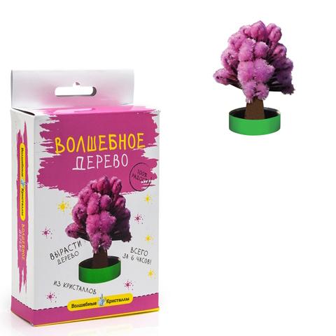 Набор ДТ Волшебные кристаллы Дерево розовое CD-115 купить оптом и в розницу