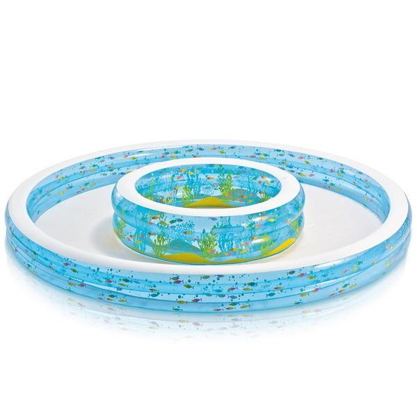 Бассейн надувной круглый 279х35 см Wishing Well Intex (57143) купить оптом и в розницу