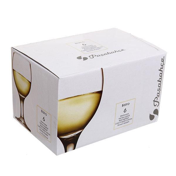 Набор фужеров для белого вина 6шт 175мл ″Бистро″ купить оптом и в розницу